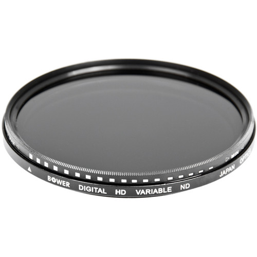 Bower 55mm Variable Neutral Density Filter