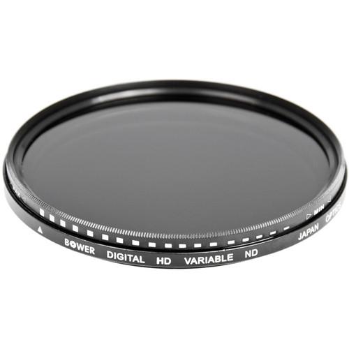 Bower 62mm Variable Neutral Density Filter