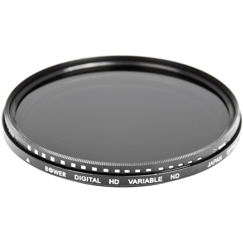 Bower 82mm Variable Neutral Density Filter