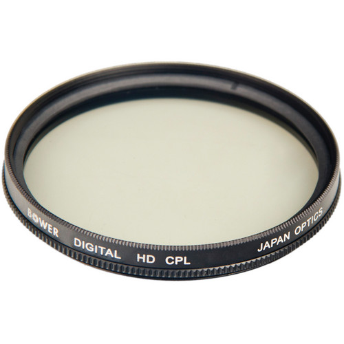 Bower 77mm Digital HD Circular Polarizer Filter