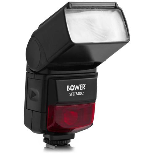 Bower SFD740C Digital TTL Flash for Canon Cameras