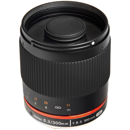 Bower 300mm f/6.3 Mirror Lens for Sony E-mount