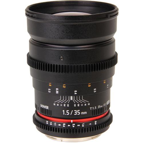 Bower 35mm T1.5 Cine Lens for Sony E
