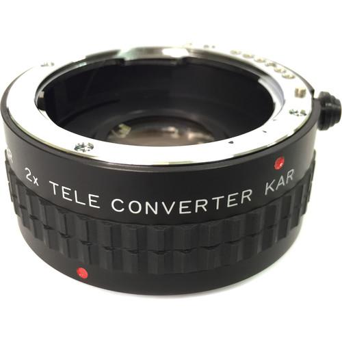 Bower 2x Manual Teleconverter for Pentax K