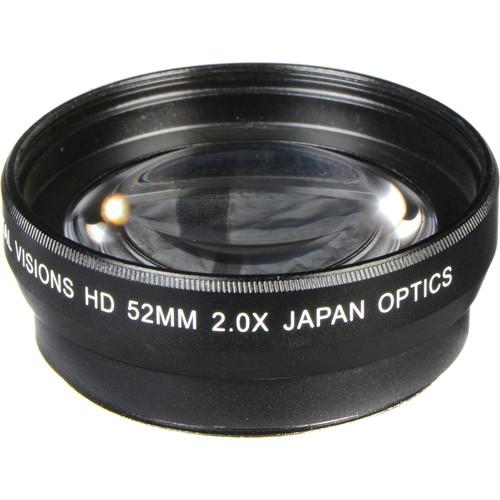 Bower 52mm Pro 2x HD Telephoto Conversion Lens