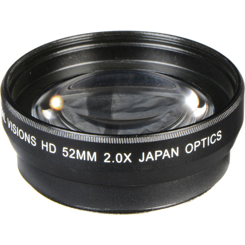 Bower 52mm Pro 2x HD Telephoto Conversion Lens