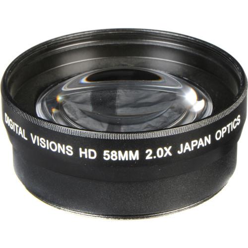 Bower 58mm Pro 2x HD Telephoto Conversion Lens