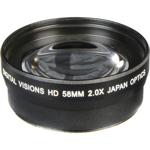 Bower 58mm Pro 2x HD Telephoto Conversion Lens
