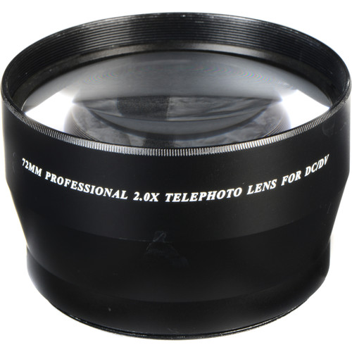 Bower 72mm Pro 2x HD Telephoto Conversion Lens
