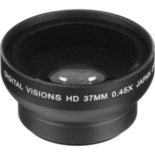 Bower 37mm 0.45x Pro HD Wide-Angle Conversion Lens