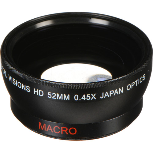 Bower 52mm 0.45x Pro HD Wide-Angle Conversion Lens