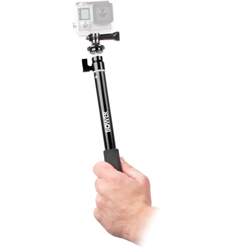 Bower Xtreme Action Series Wireless Shutter Selfie Pole (Black)