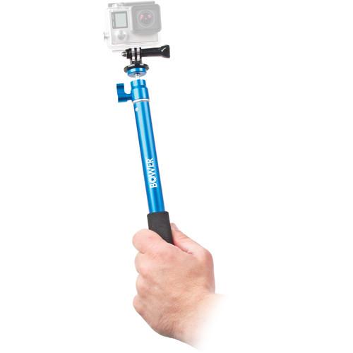 Bower Xtreme Action Series Wireless Shutter Selfie Pole (Blue)