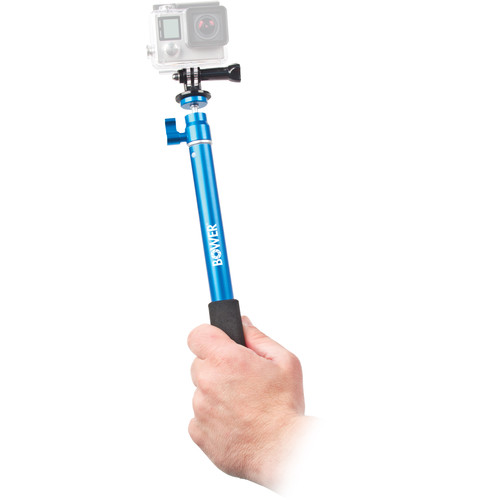Bower Xtreme Action Series Wireless Shutter Selfie Pole (Blue)