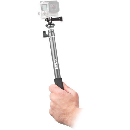 Bower Xtreme Action Series Wireless Shutter Selfie Pole (Silver)