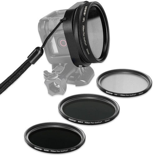 Bower Xtreme Action Series Filter Kit for GoPro HERO Session & HERO5 Session