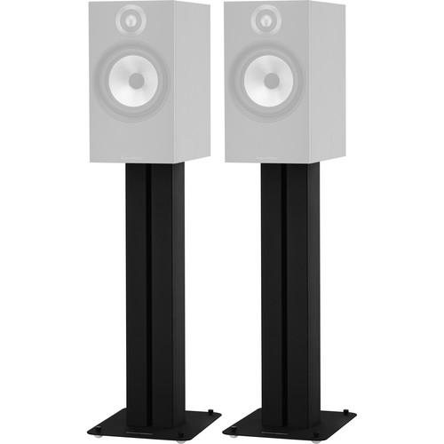Bowers & Wilkins STAV24 S2 Speaker Stands (Black, Pair)