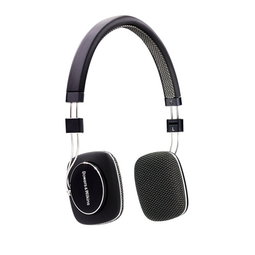 Bowers & Wilkins P3 Mobile & Portable Headphones with Remote & Mic (Black)
