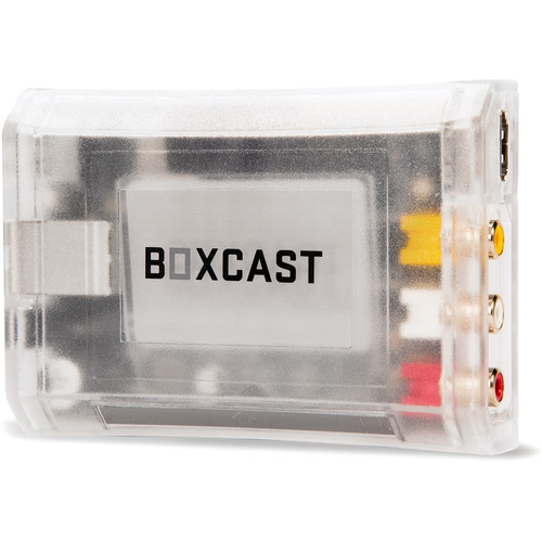 BoxCast BoxCaster HD Live Video Streaming Encoder