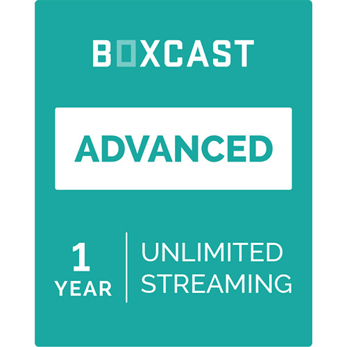 BoxCast Advanced (1-Year Live Streaming Subscription, Download)