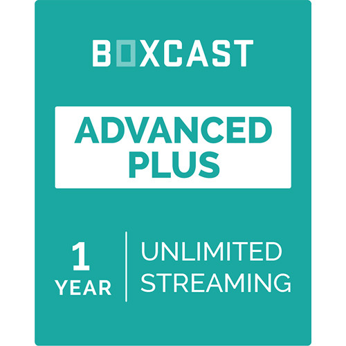 BoxCast Advanced Plus (1-Year Live Streaming Subscription, Download)