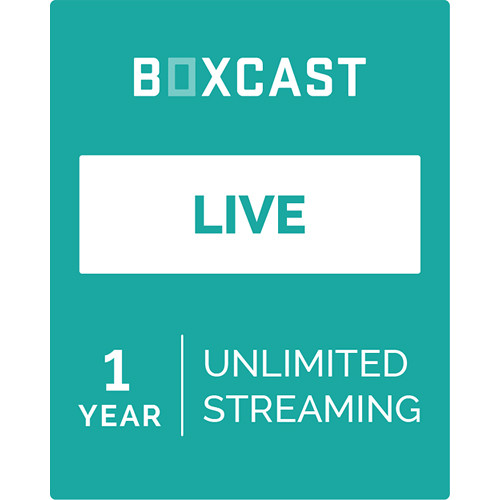BoxCast Live (1-Year Live Streaming Subscription, Download)