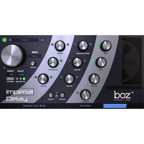 BOZ DIGITAL Imperial Delay - Delay Plug-In (Download)