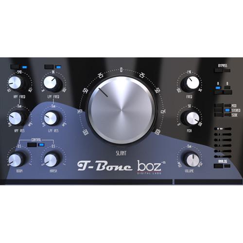 BOZ DIGITAL T-Bone - Slant EQ Plug-In (Download)