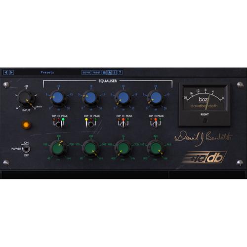 BOZ DIGITAL +10db Equaliser - Modeled EQ Plug-In (Download)