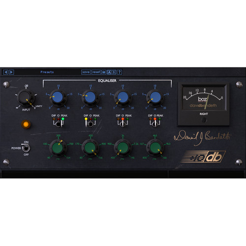 BOZ DIGITAL +10db Equaliser - Modeled EQ Plug-In (Download)