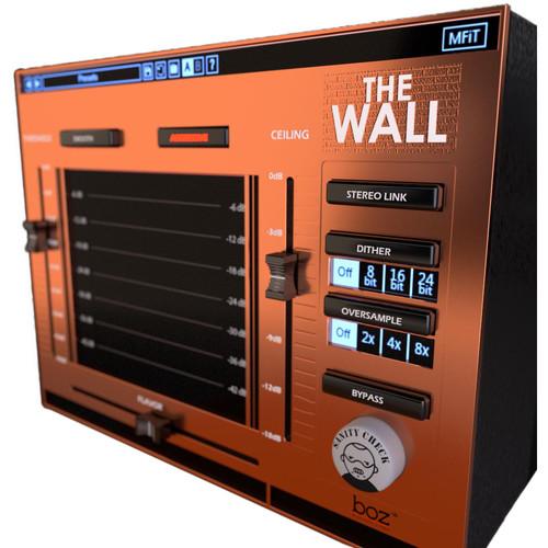 BOZ DIGITAL The Wall - Brickwall Mastering Limiter Plug-In (Download)