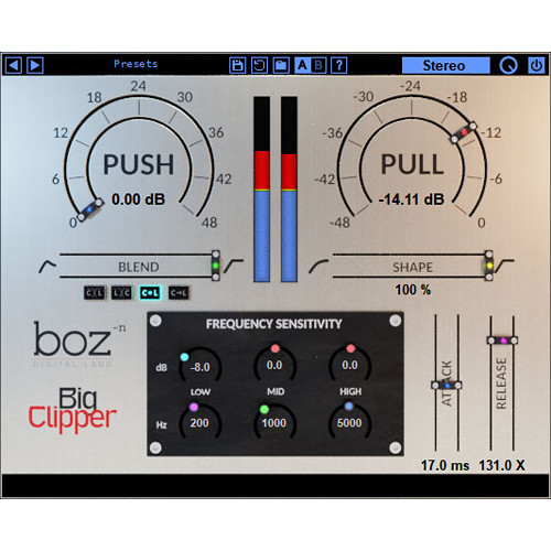 BOZ DIGITAL Big Clipper - Clipping & Limiting Plug-In (Download)