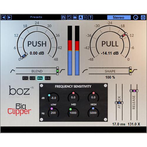 BOZ DIGITAL Big Clipper - Clipping & Limiting Plug-In (Download)