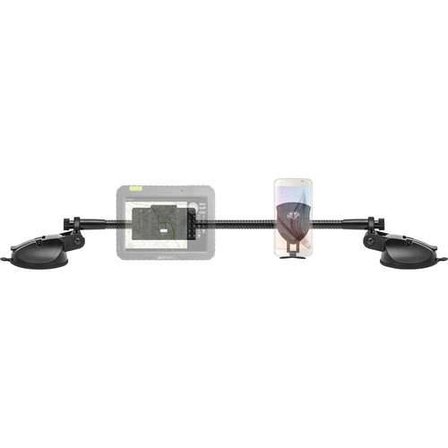 Bracketron Trucker Tough Gear Rack Mounting System for Select Smartphones and Portable Devices