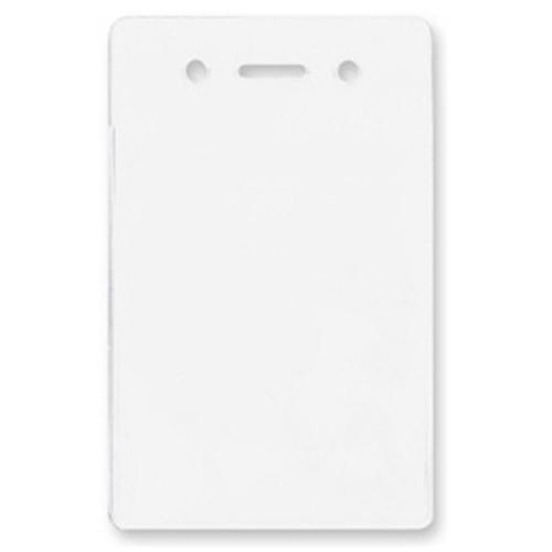 "BRADY PEOPLE ID Vinyl Vertical Proximity Card Holder (2.5 x 3.63"", 100-Pack)"