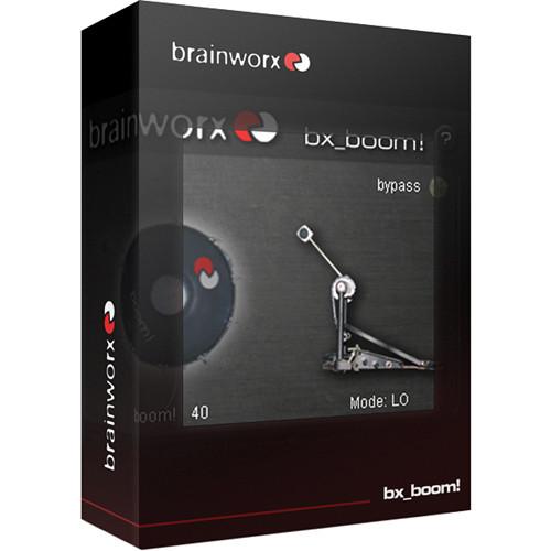 Brainworx bx_boom! - Bass Drum Enhancement Plug-In (Download)