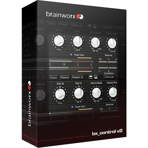 Brainworx bx_control V2 - Control Listening Tool and M/S Matrix Plug-In (Download)