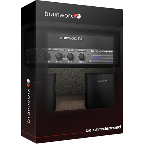 Brainworx bx_shredspread - M/S Stereo Processing Plug-In (Download)