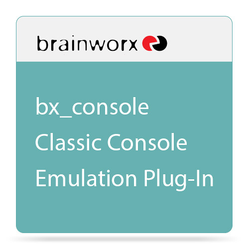 Brainworx bx_console Classic Console Emulation Plug-In (Download)