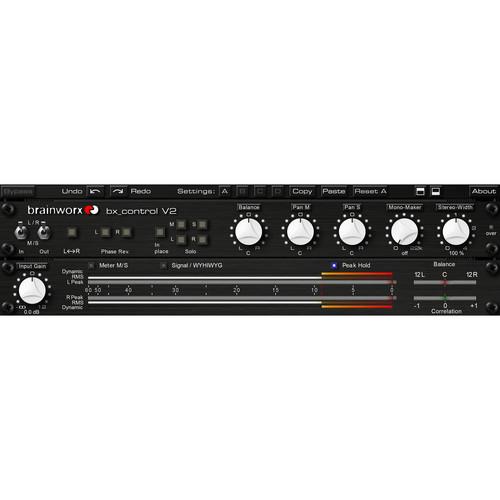 Brainworx Bx_Control V2 Control Listening Tool & M/S Matrix