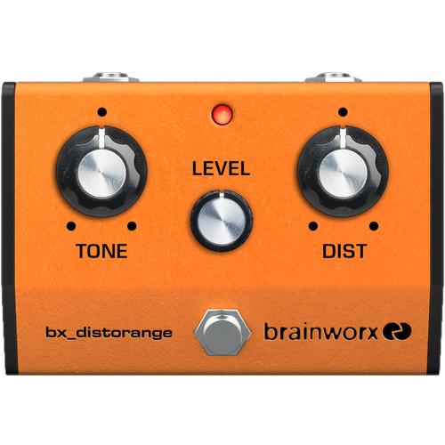 Brainworx bx_distorange Vintage Distortion Pedal Emulation Plug-In (Download)