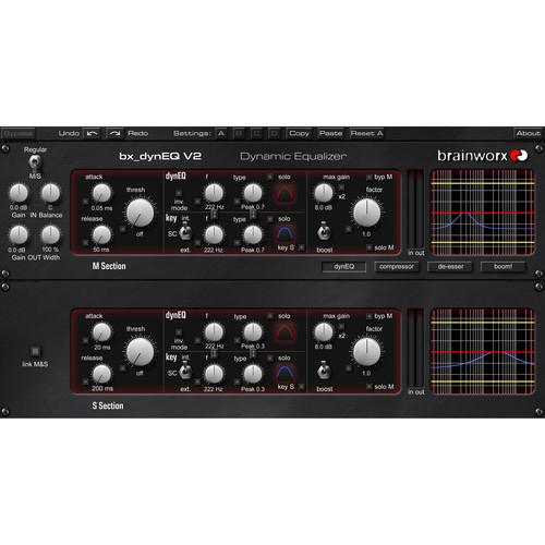 Brainworx Bx-Dyneq V2 - M/S Mastering Limiter