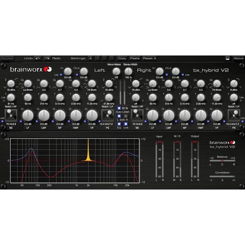 Brainworx Bx_Hybird V2 - M/S Mastering Limiter