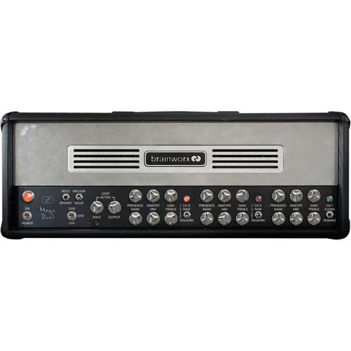 Brainworx bx_megadual Dual Rectifier Tube Guitar Amplifier Emulation Plug-In (Download)