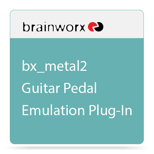 Brainworx bx_metal2 - Guitar Pedal Emulation Plug-In (Download)