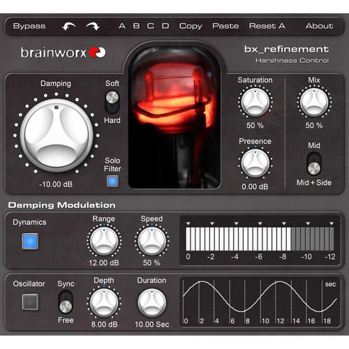 Brainworx bx_refinement Analog-Style Mastering Plug-In (Download)
