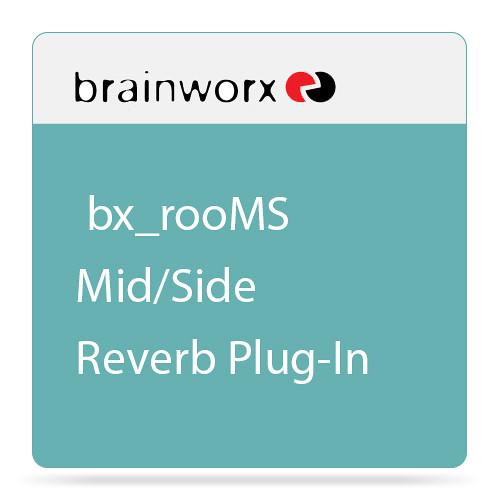 Brainworx bx_rooMS Mid/Side Reverb Plug-In (Download)