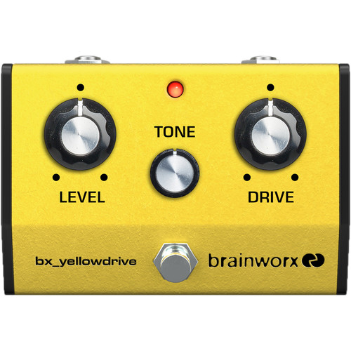Brainworx bx_yellowdrive Classic Super Overdrive Pedal Emulation Plug-In (Download)
