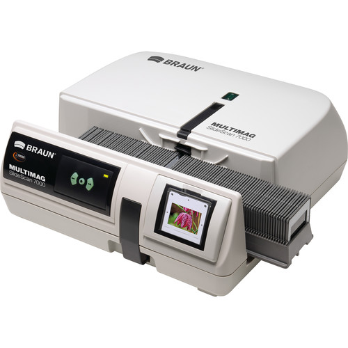 Braun MULTIMAG SlideScan 7000 Film Scanner