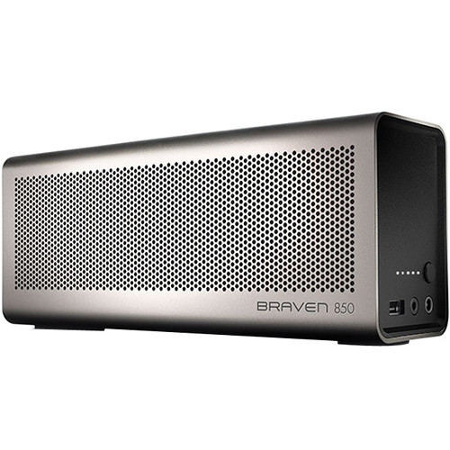 Braven 850 Bluetooth Wireless Speaker (Silver / Black)